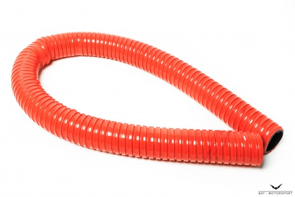 16mm 1m-Silikonschlauch Superflex Rot